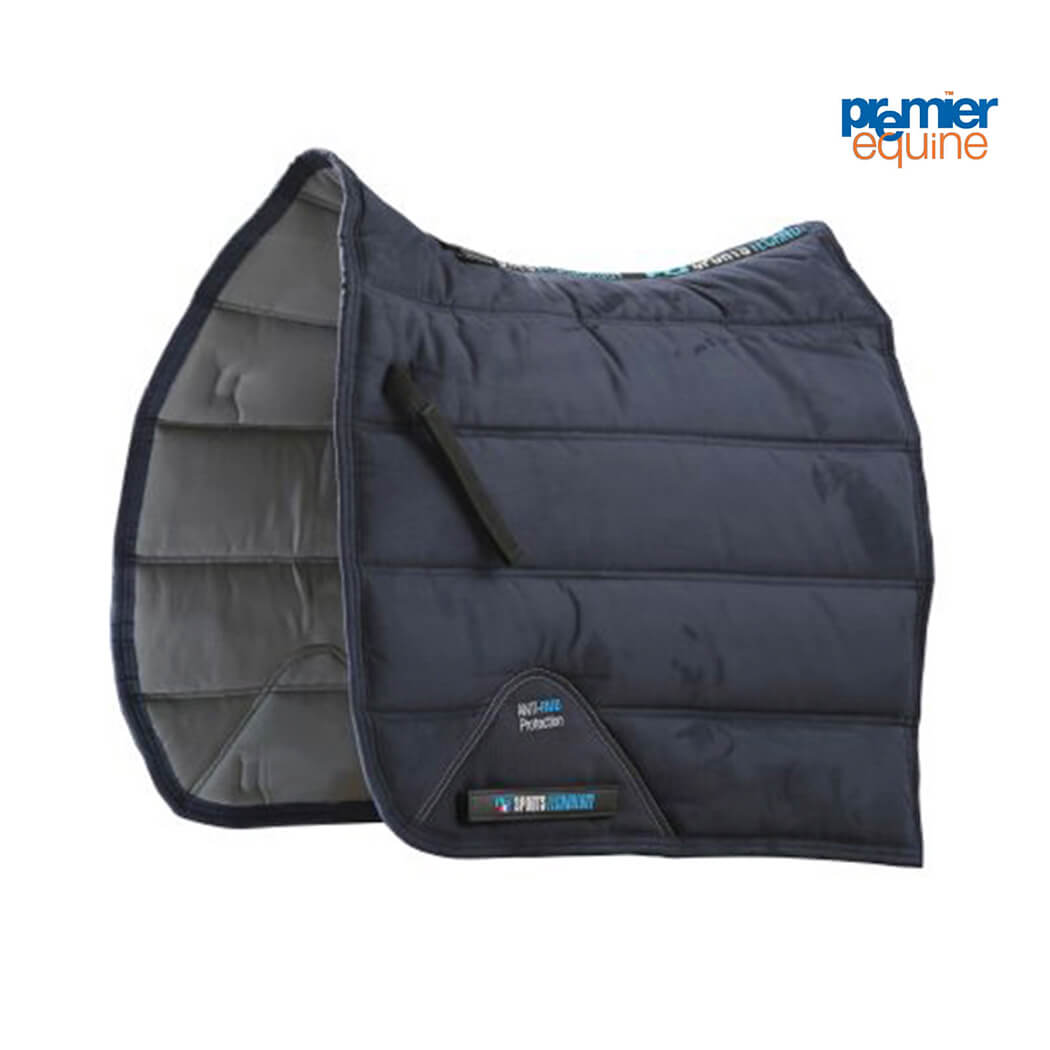 Premier Equine Techno-Suede Bamboo-lined Dressage Square