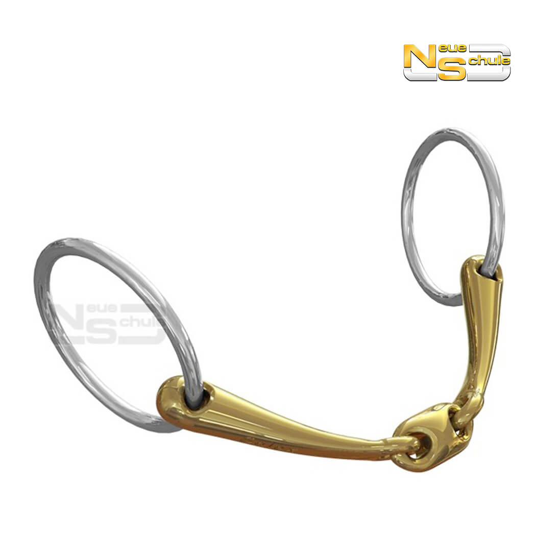 Neue Schule Pony Tranz-angled Lozenge Loose Ring
