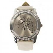 horse watch white