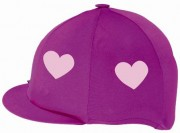 Hat Silk Cerise Pink Heart