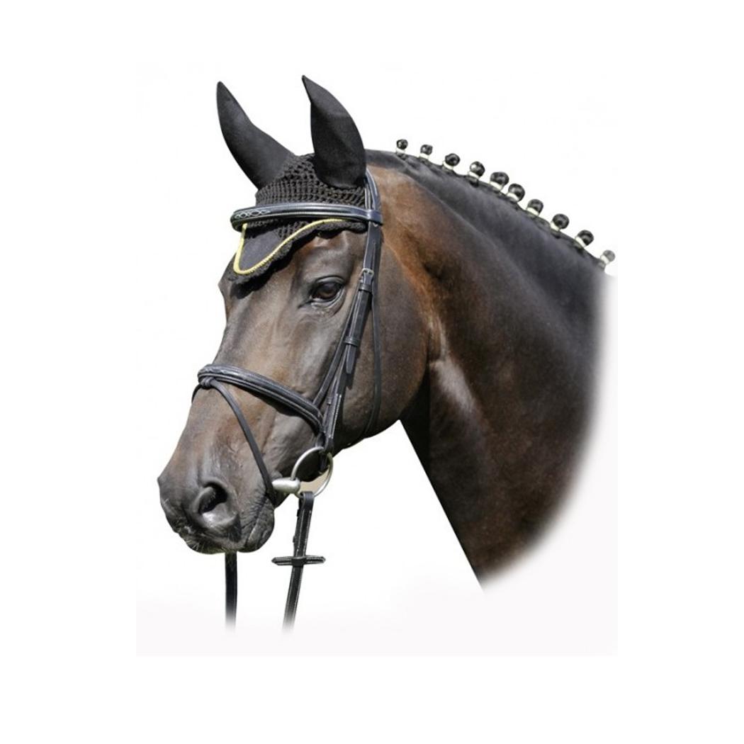 Crocheted Ear Muff Veil - Equestrian House