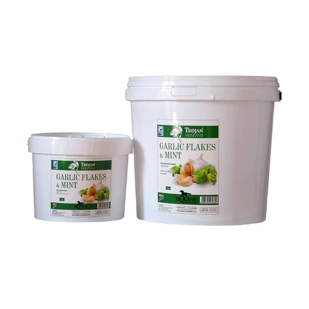 Trojan Garlic Flakes and Mint