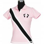 Bermuda polo pink front