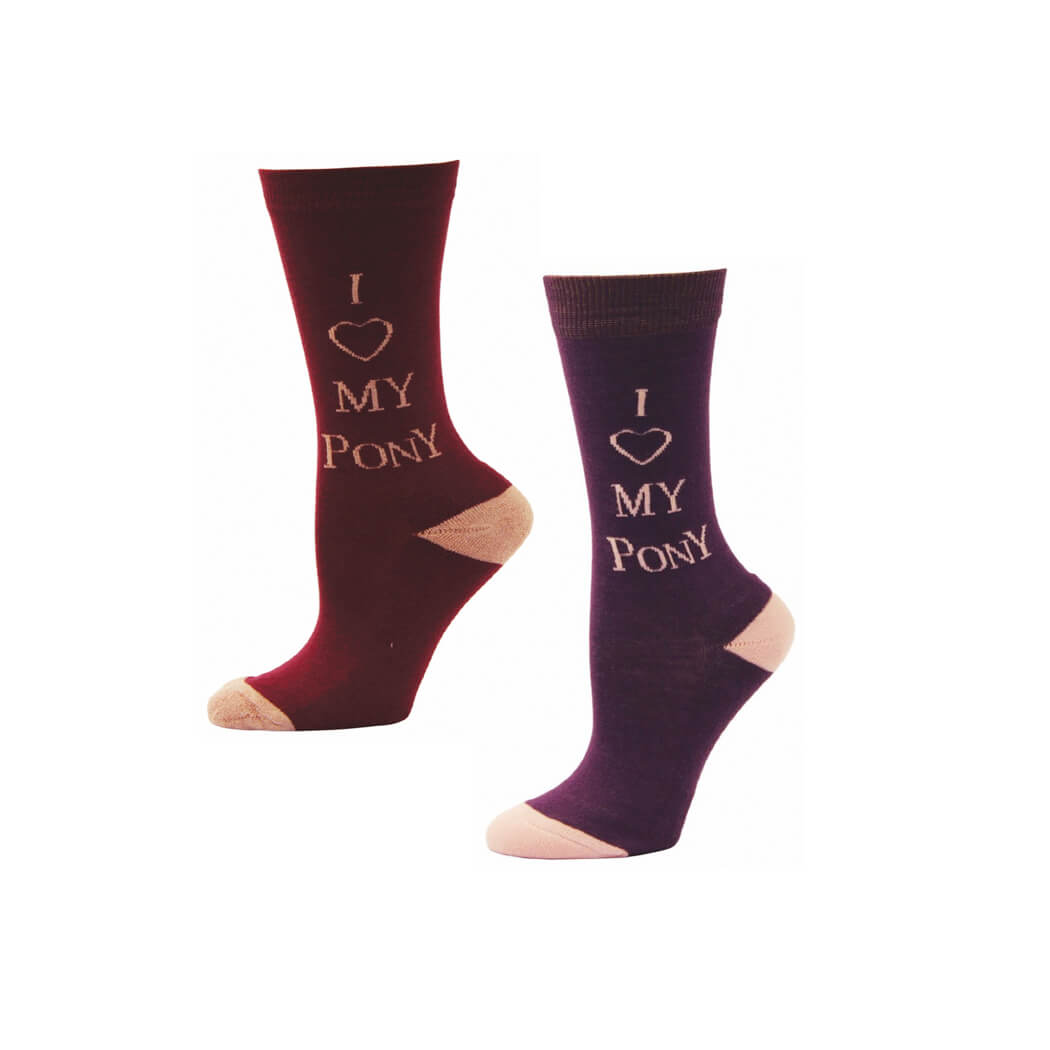 I Love My Pony Kids' Socks