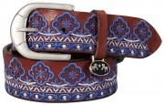 Equine Couture Embroidered Belt