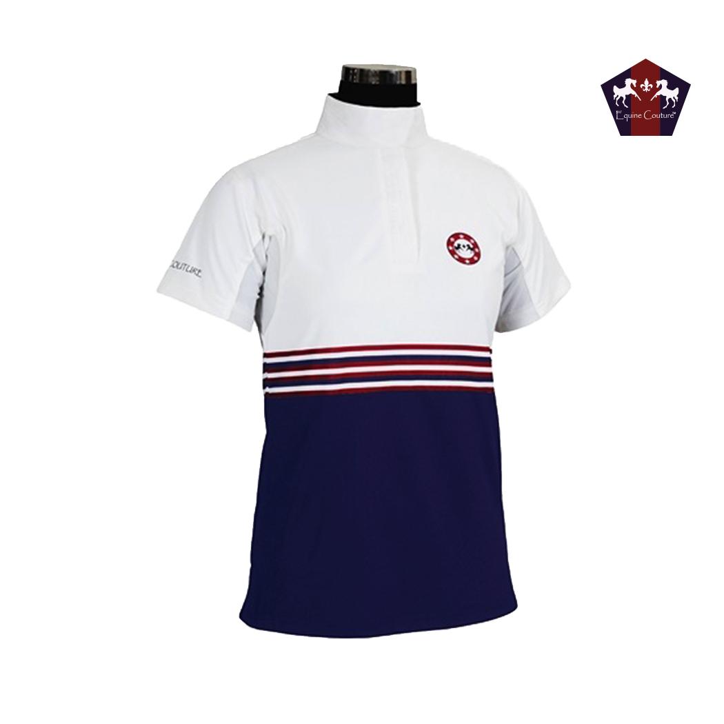 Equine Couture Centennial Short Sleeve Show Shirt