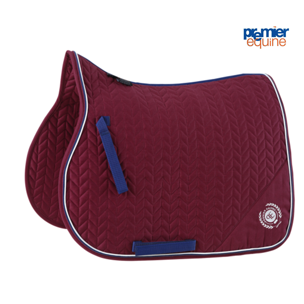 Mark Todd Saddle Pad with Piping Various colours FULL