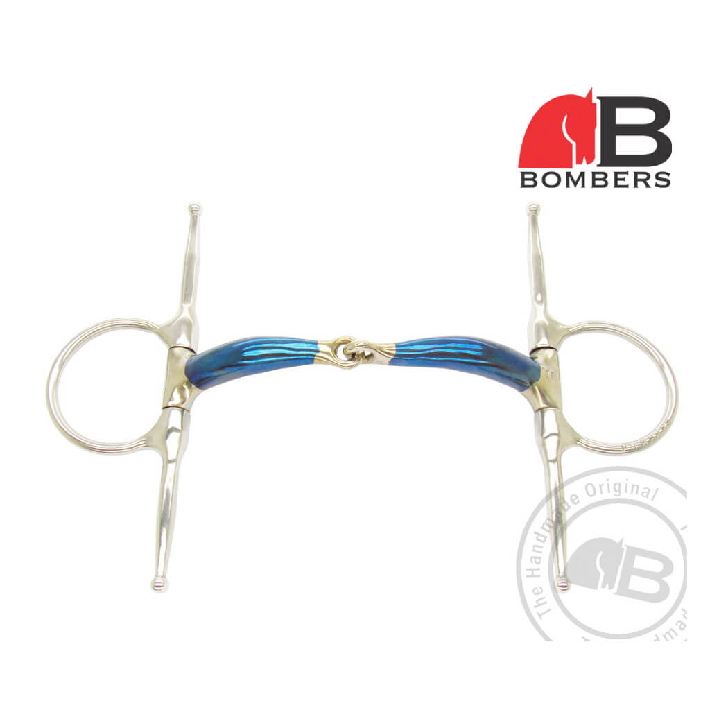 Bomber Fulmer Loose Ring Snaffle
