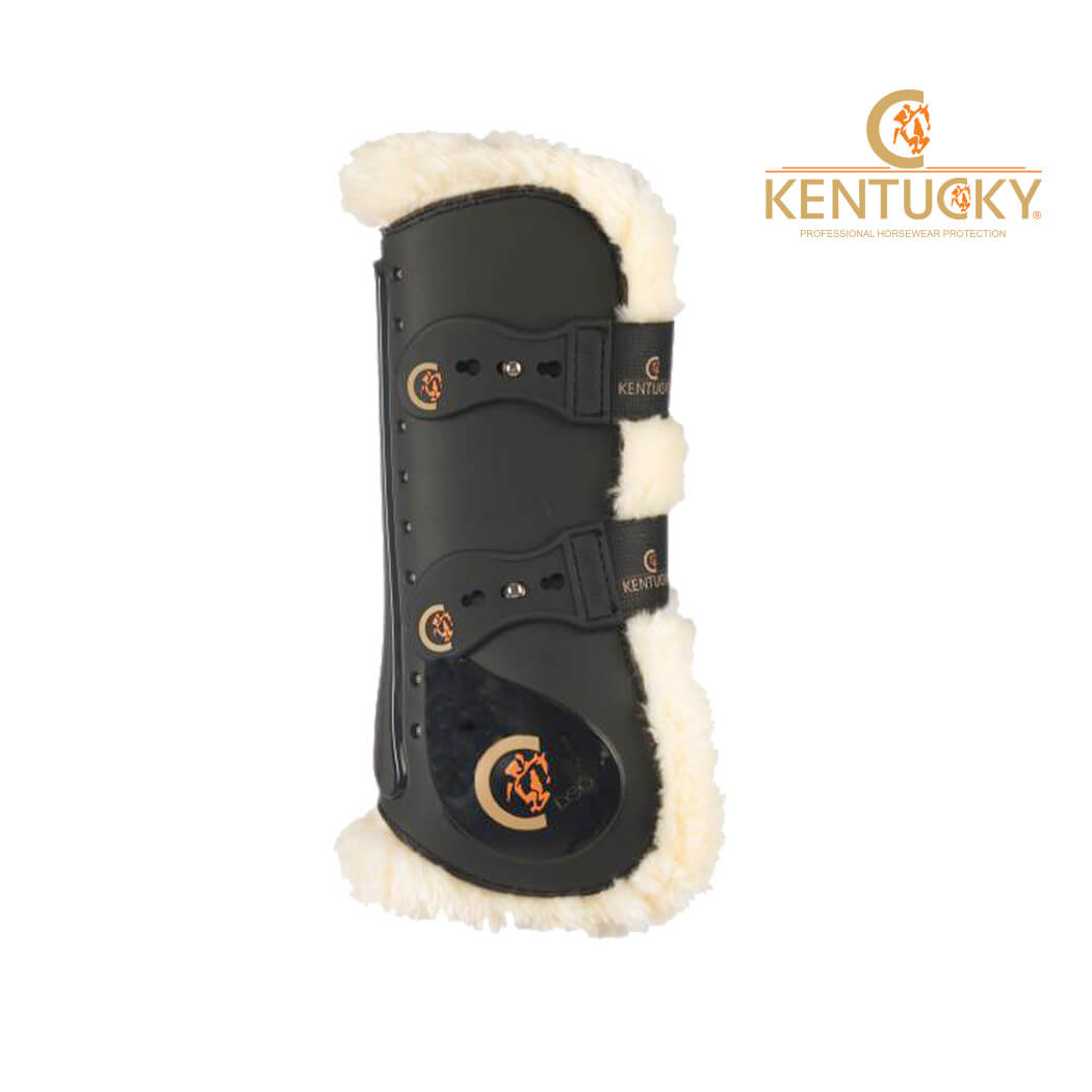 Kentucky Sheepskin Elastic Tendon Boots