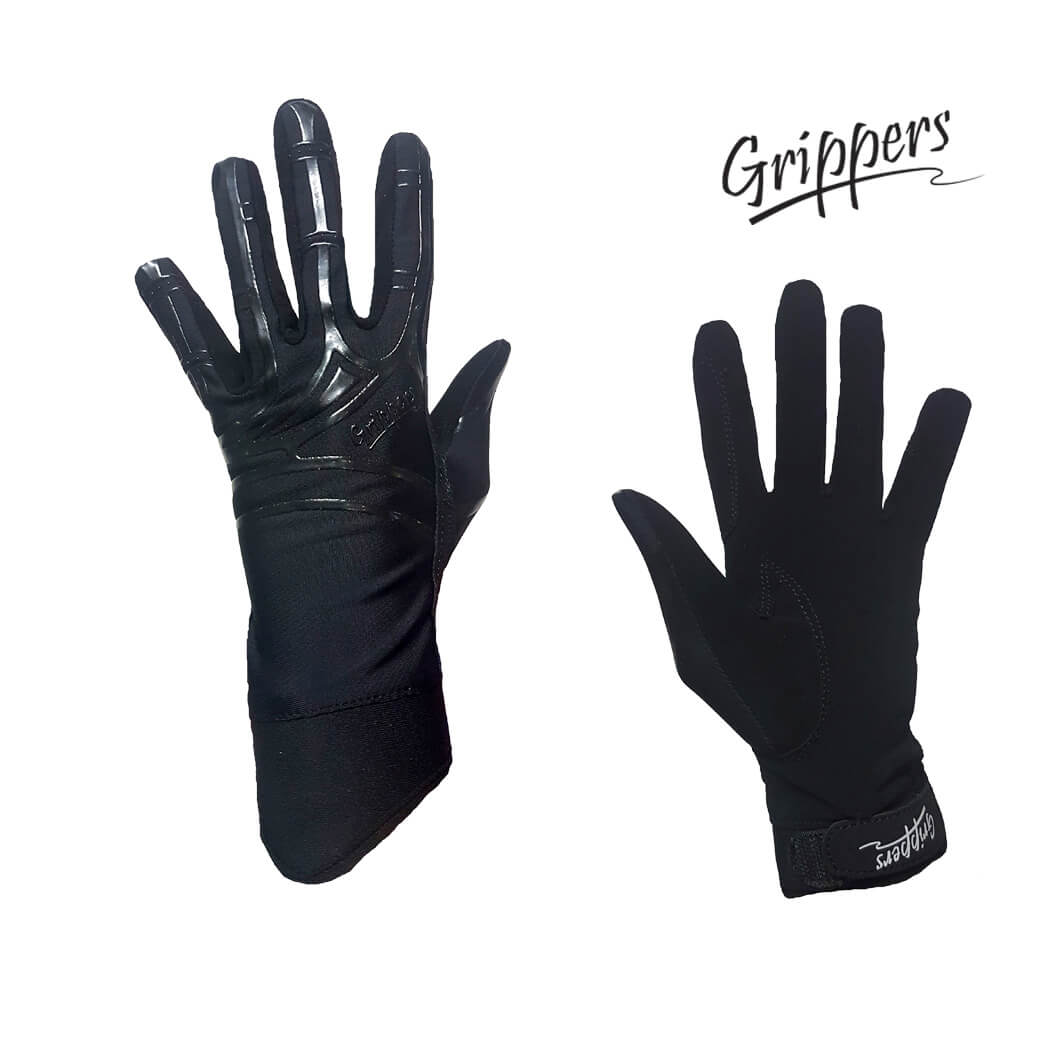 Grippers Micro Suede Gloves with Lycra Silicone Back