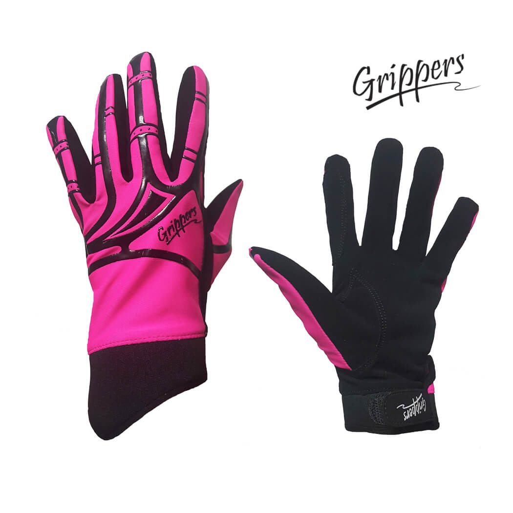 Grippers Kids Micro Suede Gloves with Lycra Silicone Back
