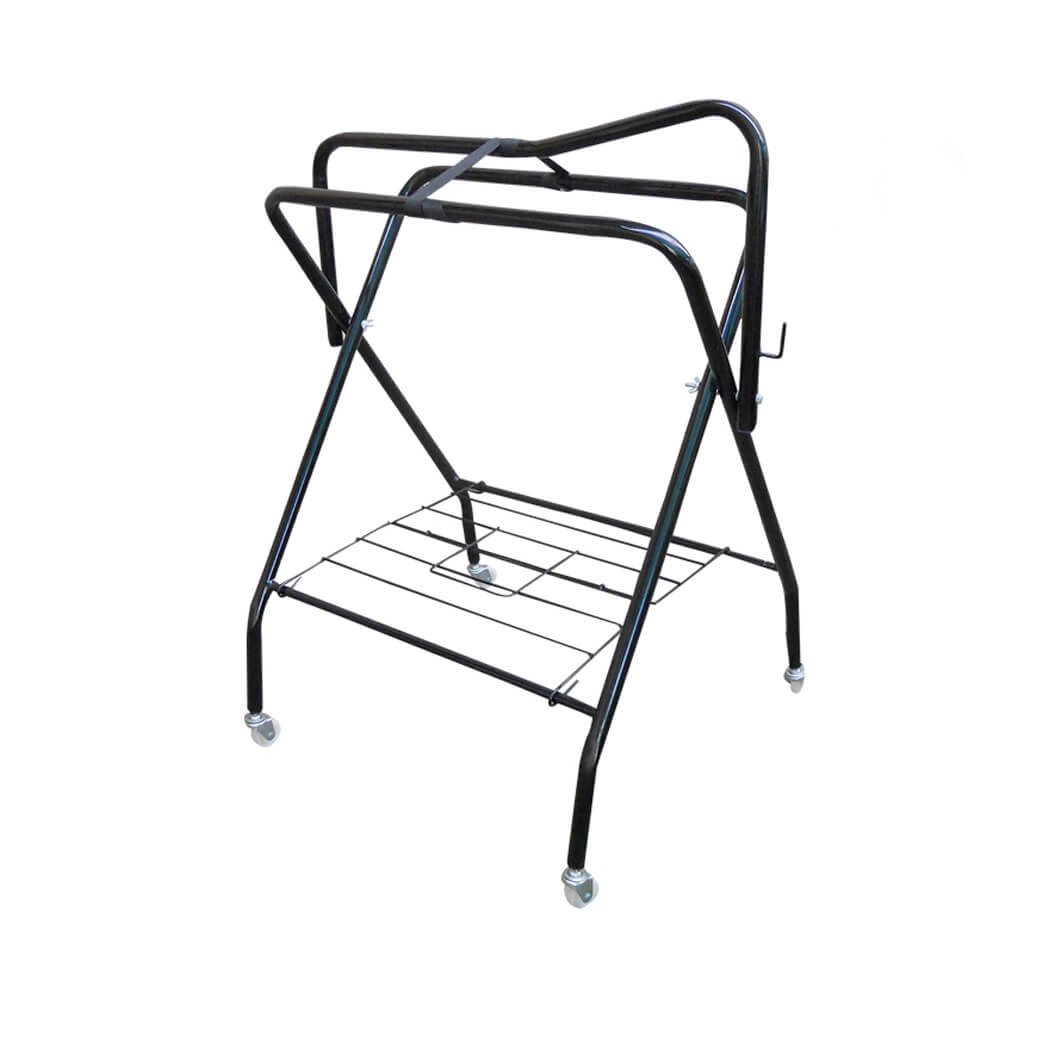 Saddle Rack -Collapsible with Wheels