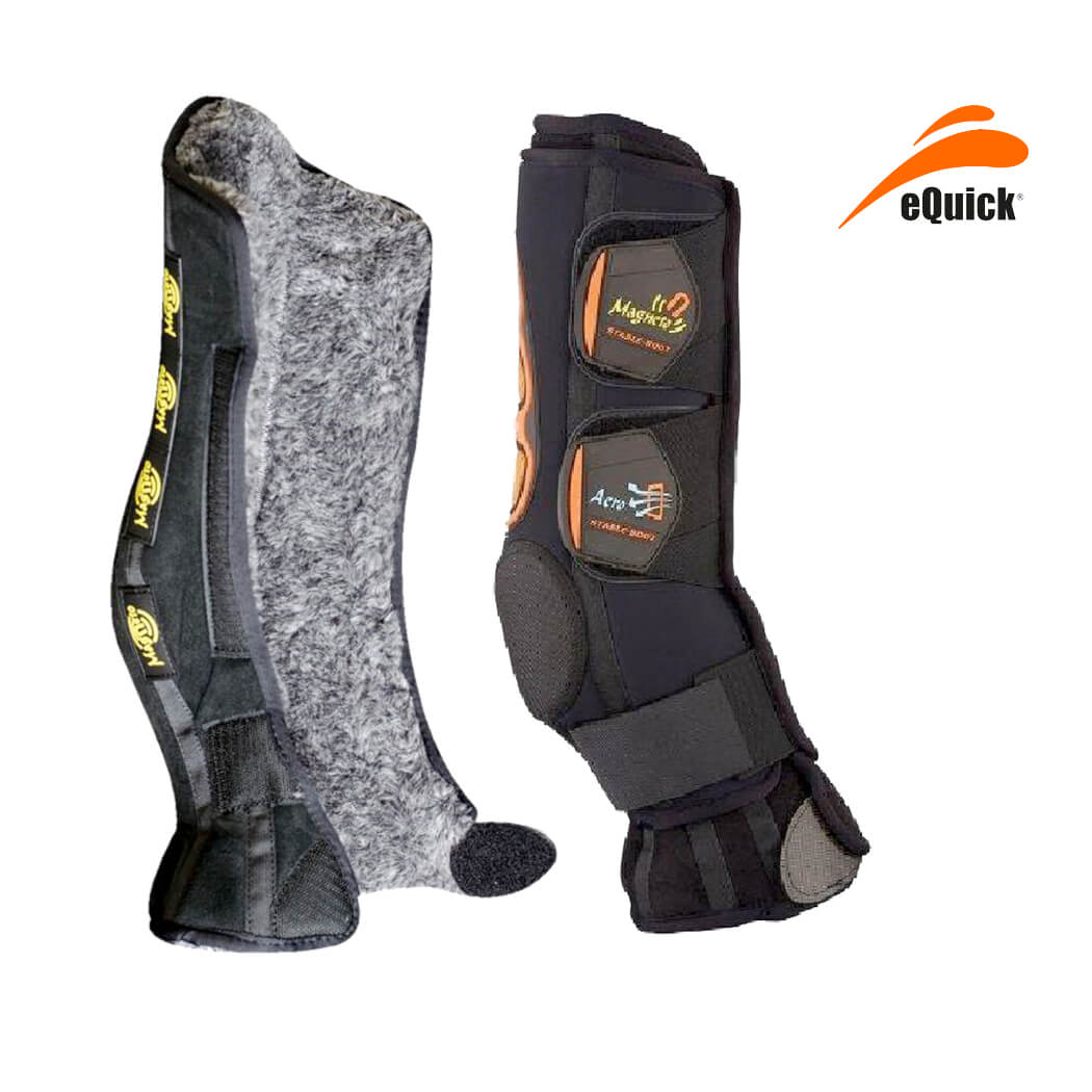 eQuick eBoot Kristal AeroMagneto Boots