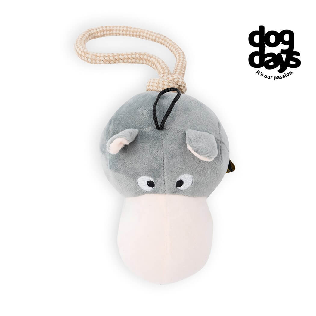 Dog Days Hippo and Rope Toy