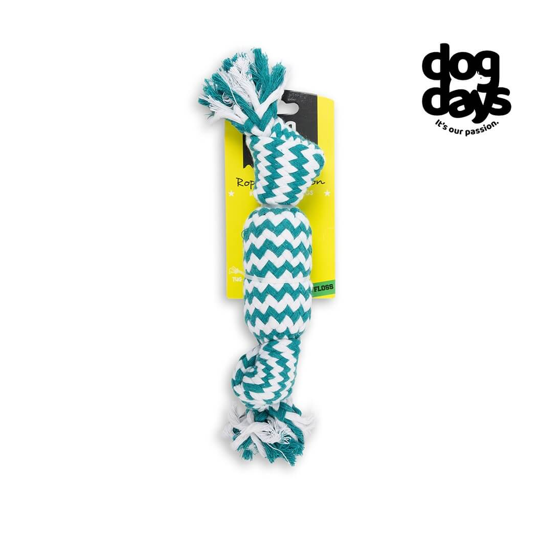 Dog Days Candy Rope Toy with Squeaker
