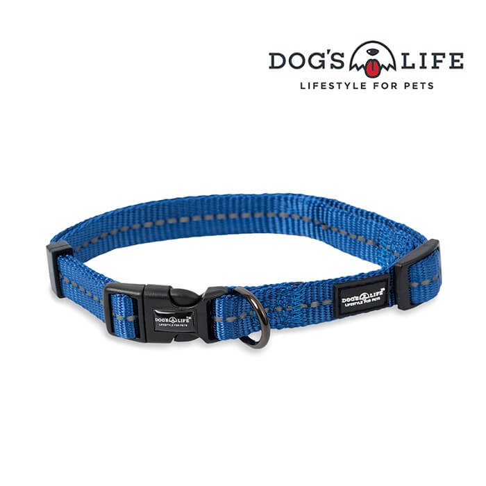Dogs Life Reflective Supersoft Webbing Collar