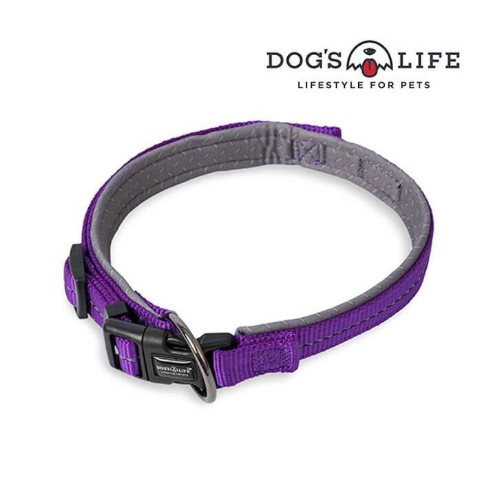 Dogs Life Reflective Supersoft Webbing Neoprene Collar