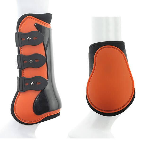 Tendon & Fetlock Boot Set with Clips