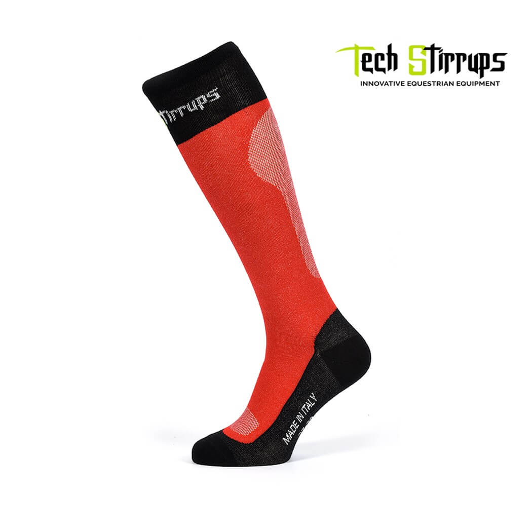 Tech Stirrup Breathable Rainbow Socks