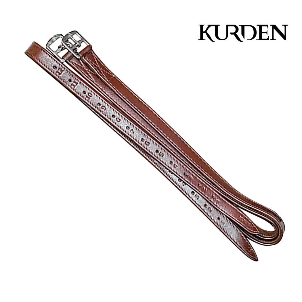 Kurden Soft Stirrup Leathers