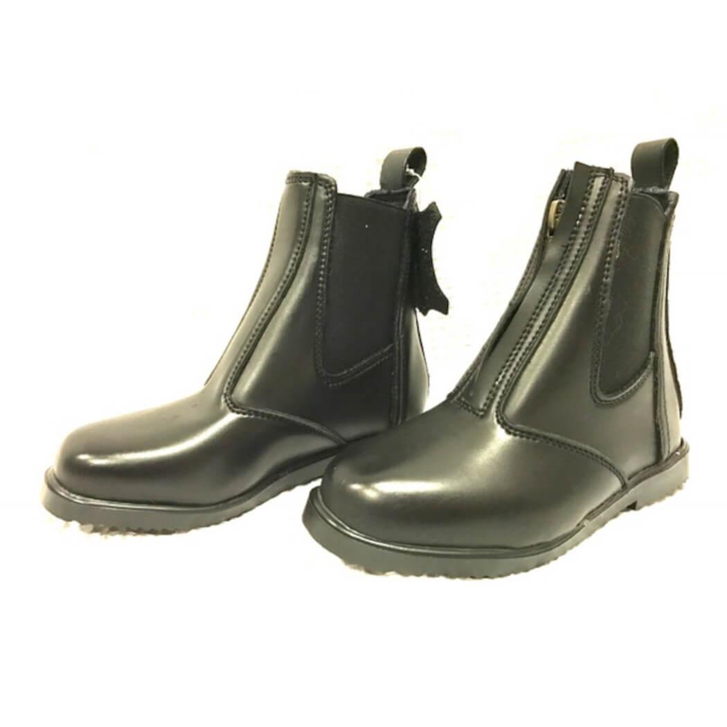 Hoofin About Zip Up Jodhpur Boots